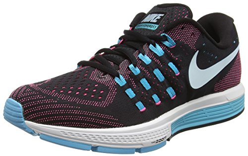 Nike Womens Air Zoom Vomero 11 Black/Glcr Bl/Pnk Blst/Gmm Bl Running Shoe 8 ...