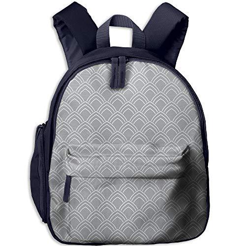 Haixia Teen's Boy's&Girl's School Backpack with Pocket Geome