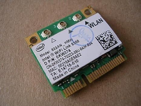 WiFi Link 5300 AGN Wireless LAN Half Size Mini PCI-E USE FOR INTEL 5300 AGN Wlan Card 450Mbps 533AN/_HMW MIMO 802.11a//b//g//Draft-N1 2.4//5.0 GHz