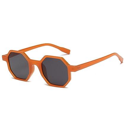 JAGENIE Gafas de Sol geométricas cuadradas para Mujer, Gafas ...