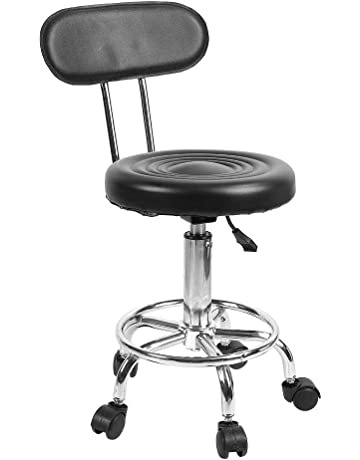 Quality Multifunction Beauty Salon Stool Makeup/manicure/haircut Seat Slidable Spa Stool Lifted And Rotation Chair Without Backrest Superior In