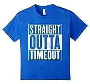 Funny Timeout T-Shirt - STRAIGHT OUTTA TIMEOUT Shirt