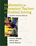 Mathematics for Elementary Teachers via Problem Solving