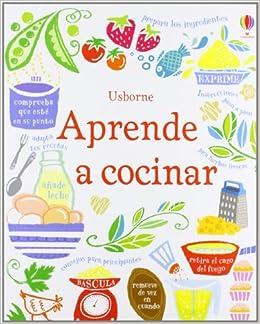 Aprende a Cocinar (Spanish) Paperback – 2013