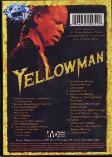 Yellowman: Live in San Francisco by 2b1 Records