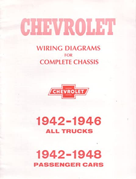 amazon com 1942 1946 1948 chevrolet cars trucks electrical wiring rh amazon com