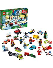 LEGO City Advent Calendar 60268 Playset, Includes 6 LEGO City Adventures TV Series Characters, Miniature Builds, City Play Mat, and Many More Fun and Festive Features, New 2020 (342 Pieces)