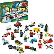 LEGO City Advent Calendar 60268 Playset, Includes 6 City Adventures TV Series Characters, Miniature Builds, Ci