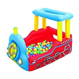 UP IN & OVER Train Play Center Inflatable Ball Pit