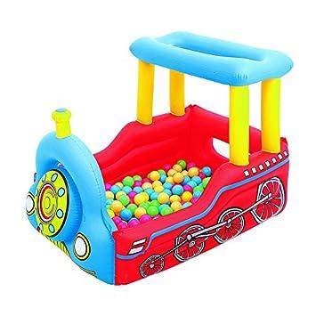 Piscina de Bolas Hinchable Bestway Tren: Amazon.es: Juguetes y juegos