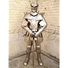 Nauticalmart Fully Wearable Medieval European Knight Full Suit of Armor Breastplate 15th Cent