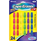 BAZIC Neon Eraser Top (24/Pack) (Case of 72) by Bazic