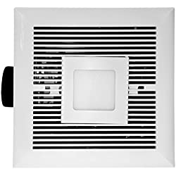 Tatsumaki LD-120 Bathroom Fan - 120 CFM Ultra Quiet with LED