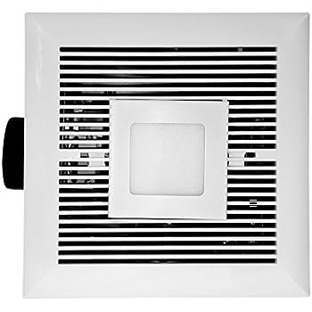 Broan qtx110sl ultra silent humidity sensing bathroom fan - Ultra quiet bathroom exhaust fan with light ...