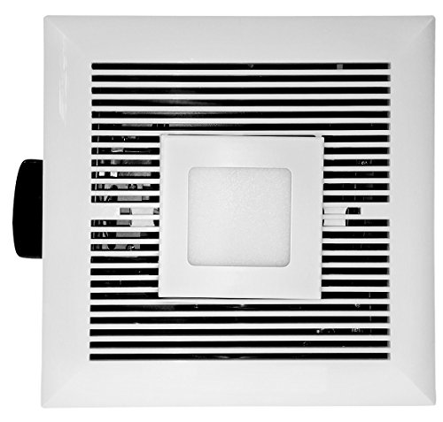 Ultra Quiet Fan Panel (Tatsumaki LD-120 Bathroom Fan - 120 CFM Ultra Quiet with LED)
