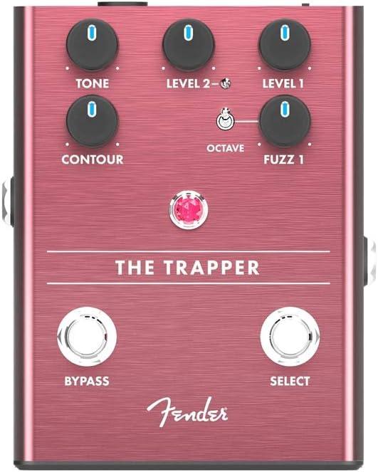 Fender The Trapper Dual Fuzz, guitarra eléctrica recta de 1/4 pulgadas (0234545000)