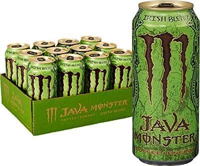 Java Monster, 15 Ounce (Pack of 12)