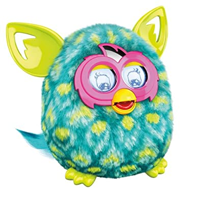 Furby Boom Figure (Peacock): Toys & Games