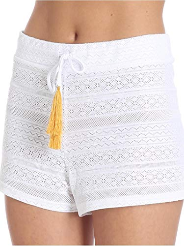 Poliammide 4GIVENESS FGC00050001 Donna Bianco Shorts xtwCCf0Xq