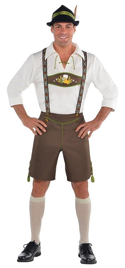 outlet 10ad2 9a0fe Amscan International - Costume da uomo, stile bavarese, taglia M/L