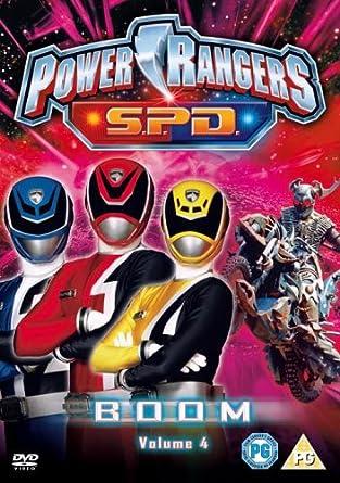 Power Rangers S.P.D.: Boom, Vol. 4