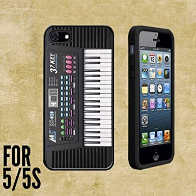 La carcasa de teclado de Piano/portada/piel para Apple iPhone 5/5S
