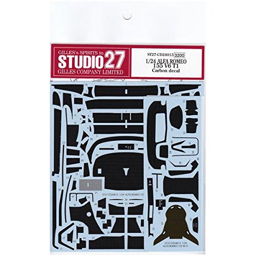 スタジオ27 1/24 アルファロメオ 155 V6 TI カーボン デカール タミヤ対応 STUDIO27