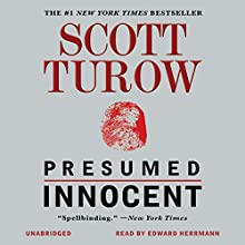 Presumed Innocent Audiobook by Scott Turow Narrated by Edward Herrmann