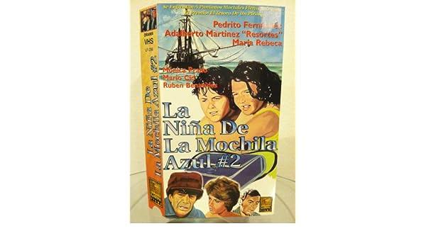 Amazon.com: La Nina De La Mochila Azul 2 [VHS]: Pedrito Fernandez: Movies & TV