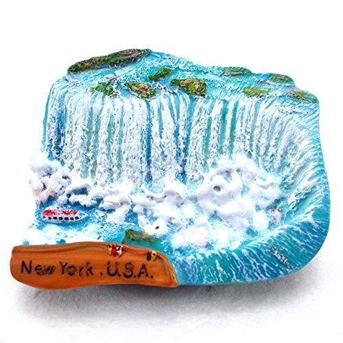 Niagara Falls USA Canada Resin 3d Fridge Magnet SOUVENIR TOURIST GIFT 079 by Mr_air_thai_Magnet_World by Mr_air_thai_Magnet_World