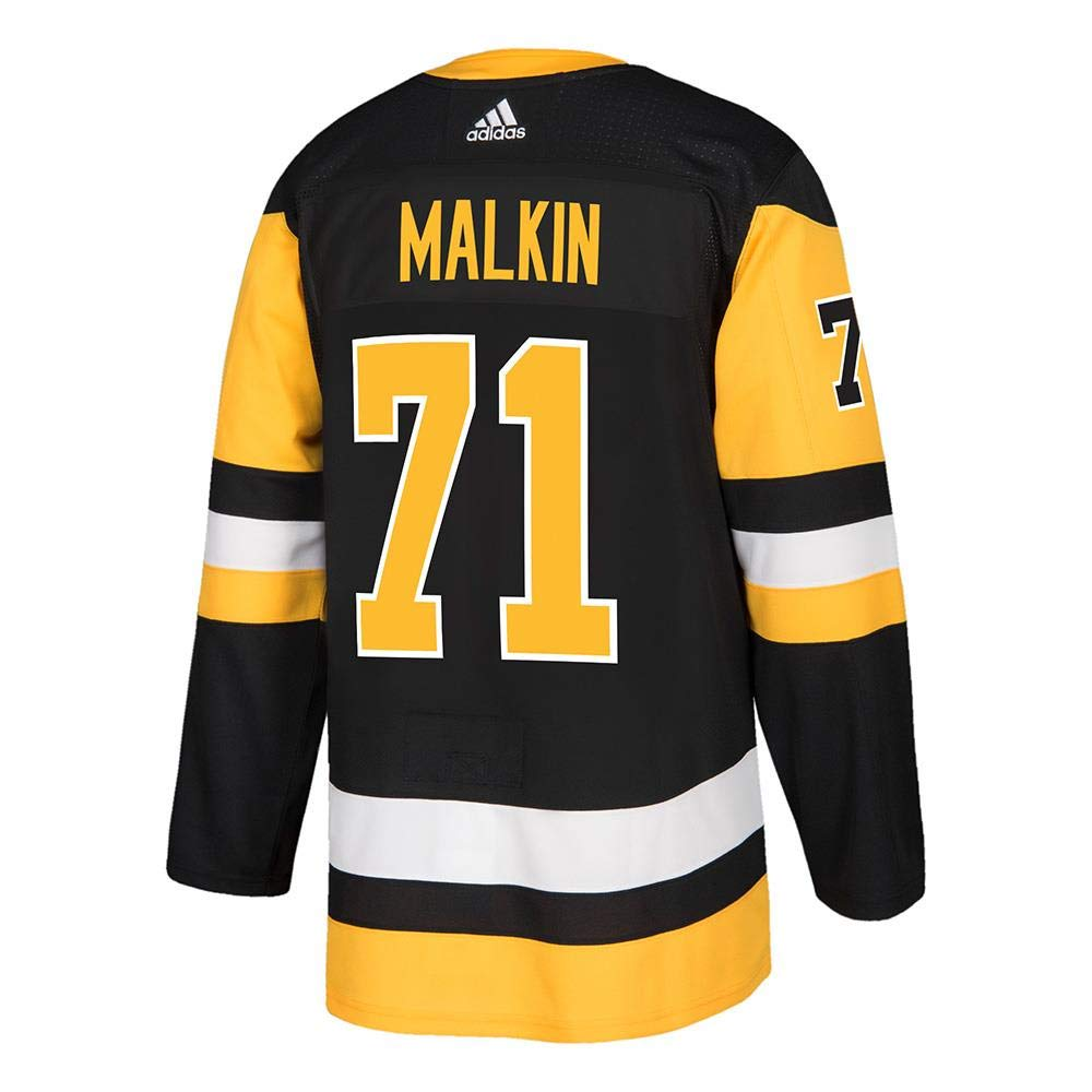 Evgeni Malkin Pittsburgh Penguins Adidas NHL Men\'s Authentic Black Hockey Jersey