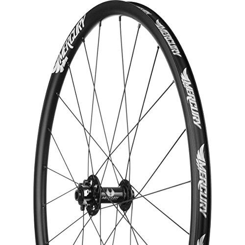 Solid Wheelsets (Mercury Wheels M1 Disc Brake Wheelset - Clincher White/6-Bolt, 12/15x100/12x142mm,Shimano/SRAM)