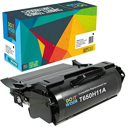 - Do it Wiser Remanufactured T650H11A High Yield Toner for Lexmark T650 T652 T650DN T650N T652DN T652N T654DN - 25,000 Pages