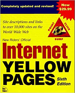 Internet Yellow Pages (6th ed): 9781562057848: Amazon com: Books