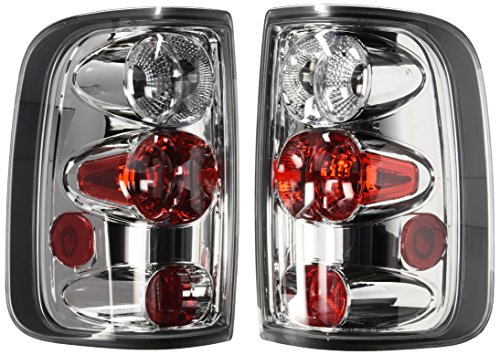 Spec-D Tuning LT-F15004-TM Clear/Chrome Tail Light for sale  Delivered anywhere in Canada