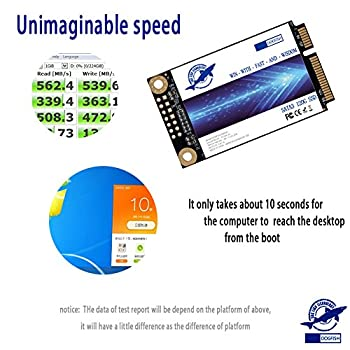 Dogfish Msata 240gb Internal Solid State Drive Mini Sata Ssd Disk 1