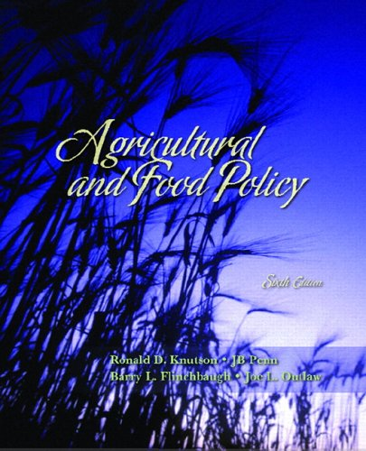 Agricultural and Food Policy (6th Edition)
