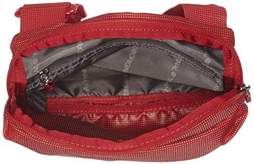 de Rojo bolsos Mandarina Md20 hombro Duck y Scarlet Mujer Shoppers Tracolla Flame TqqfSwOY