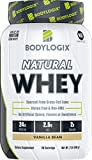 Bodylogix Natural Grass-Fed Whey Protein Powder, NSF Certified, Vanilla Bean, 2 Pound For Sale