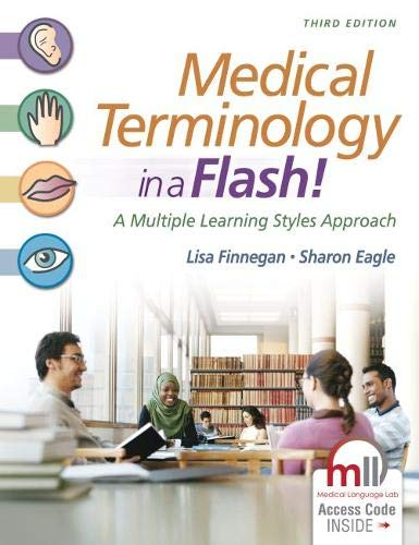 Medical Terminology in a Flash!: A Multiple Learning Styles Approach (Medical Flash Terminology A In)