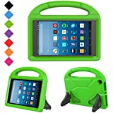 Kids Case for Fire HD 8- TIRIN Light Weight Shock Proof Handle Kid –Proof Cover Kids Case for Amazon Fire HD 8 Tablet (7th Generation, 2017 Release),Green