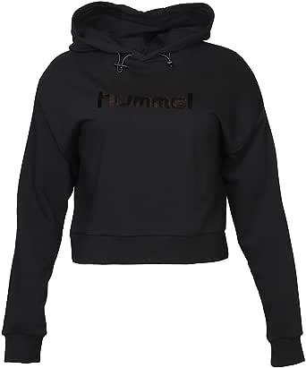 hummel Hoodies for Women, Color Black - Size XL