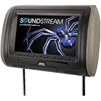 Soundstream VH-90HD Universal Replacement Headrest Pre-Loaded 9 LCD/MobileLink Input