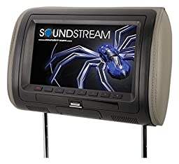 Soundstream VHD-90HD Universal Replacement Headrest Pre-Loaded 9\