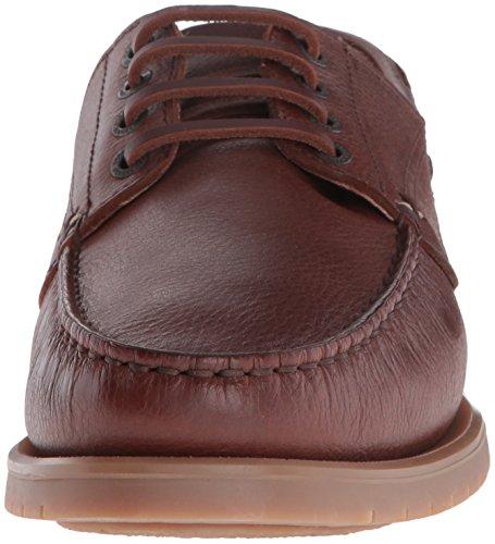 Sebago Mens Landon Four Eye Oxford Brown Leather