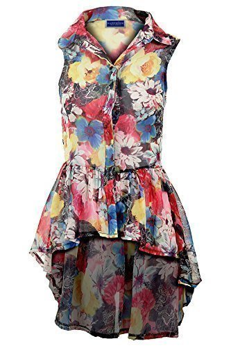 Blusas floreadas de moda para dama