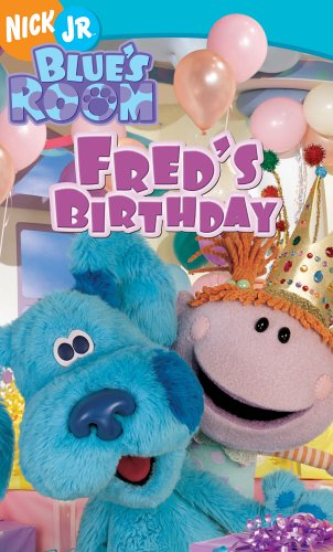 Amazon.com: Blue\'s Clues - Blue\'s Room - Fred\'s Birthday [VHS ...