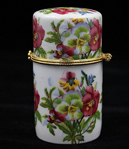 Generic toothpick holder portable ceramic containers boxes red flower toothpick holders - Portable toothpick holder ...