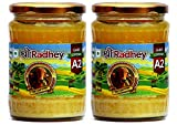 Shree Radhey Certified A2 Gir Cow Ghee - Gluten Free - (Traditionaly Hand Churned) (500 ml X 2)