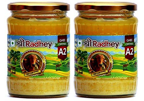 Shree Radhey Certified A2 Gir Cow Ghee - Gluten Free - (Traditionaly Hand Churned) (500 ml X 2) by Shree Radhey (Image #7)